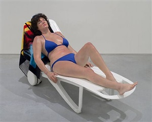 sunbather by duane hanson