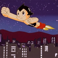 astroboy from the homage to andy warhol portfolio by rupert jasen smith