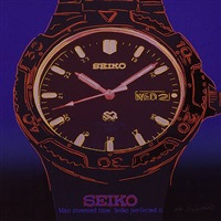 seiko from the homage to andy warhol portfolio by rupert jasen smith