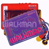 sony walkman from the homage to andy warhol portfolio by rupert jasen smith