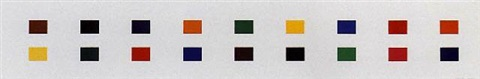 18 colors (cincinnati) by ellsworth kelly