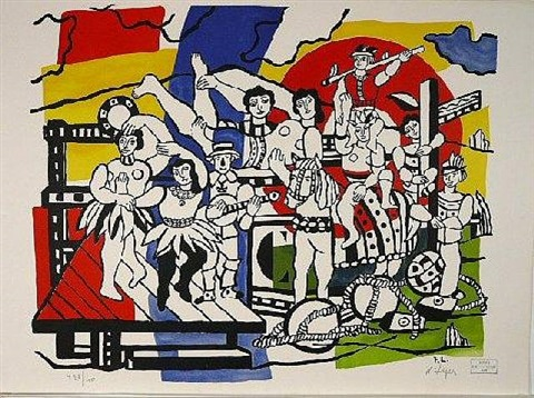 le grand parade by fernand léger