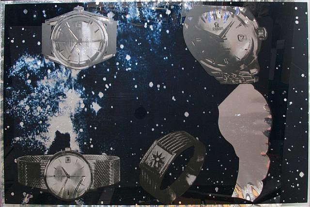 five objects in space by joe tilson