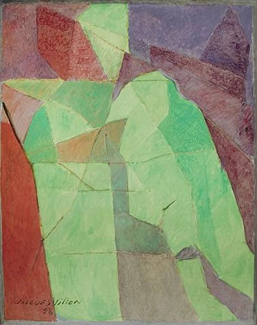 man sitting by jacques villon