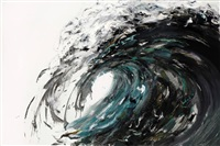 wave breaking, march by maggi hambling