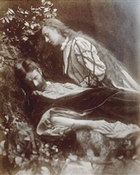gareth and lynette by julia margaret cameron