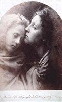 the kiss of peace by julia margaret cameron