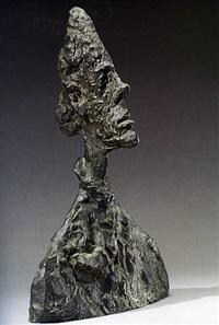 tete de diego by alberto giacometti