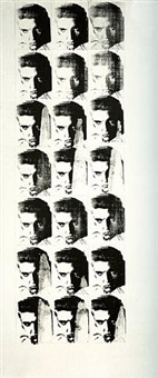 elvis 21 times by andy warhol