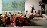 the banquet from the last days of pompeii by eleanor antin