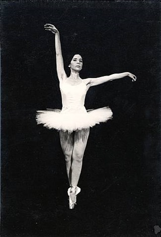 caught in the act: choreography iv - in the grand manner (short tutu) by eleanor antin