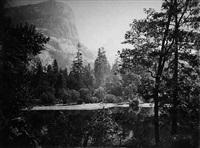 lake ah-wi-yah, yosemite valley by carleton e. watkins