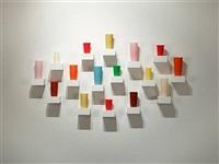 Untitled (16 Tumblers in an elliptical..., 2007