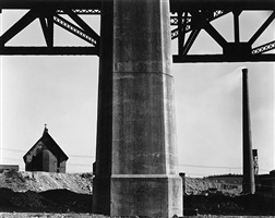 church, brooklyn outskirts by brett weston