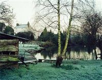 """february 2001 (from the series, """"upton pyne"""") by jem southam"""
