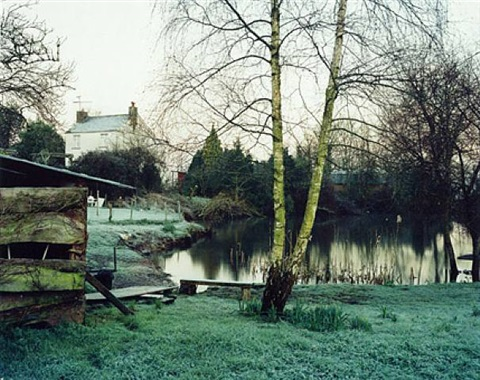 "february 2001 (from the series, ""upton pyne"") by jem southam"