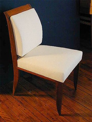 pair of side chairs by michel roux spitz
