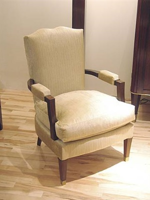 single armchair by jules leleu