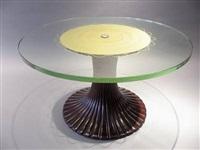circular table by osvaldo borsani