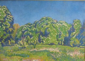 unititled landscape by louis valtat