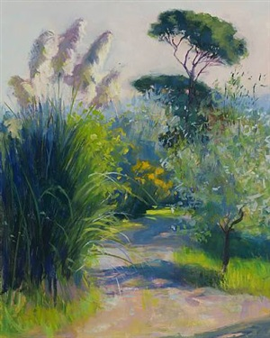 path to cypress trees by sandra wakeen