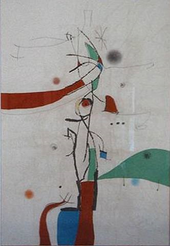 le ramoneur salace by joan miró