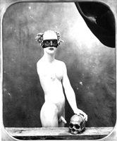 reminiscent of portrait as a vanity by joel-peter witkin