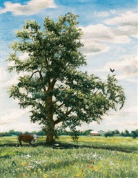 landscape with tree by emily guthrie smith