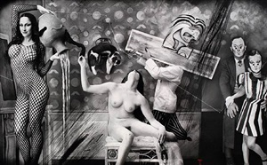 """reality is an invention"" - balthus by joel-peter witkin"