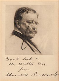 theodore roosevelt by william oberhardt
