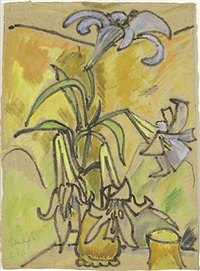 lilien by erich heckel