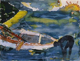 martinique morining by romare bearden