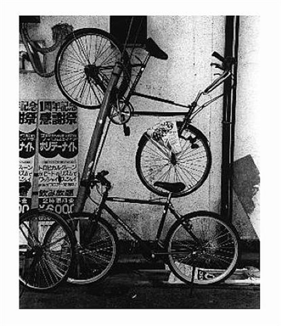 untitled (bicycles) by daido moriyama