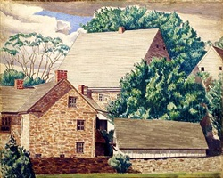 ephrata by charles sheeler