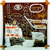 hector by jean-michel basquiat