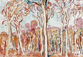 les arbres en sologne by louis valtat