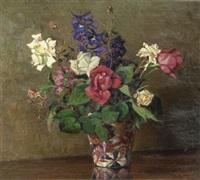 rose nel vaso by renuccio renucci