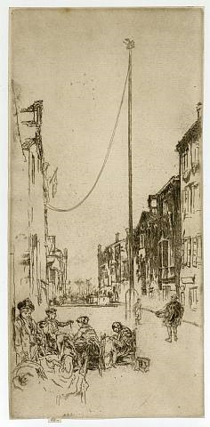 the mast by james abbott mcneill whistler