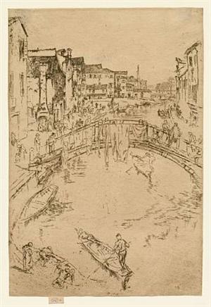 the bridge by james abbott mcneill whistler