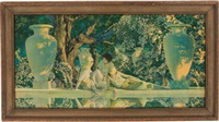the garden of allah by maxfield parrish