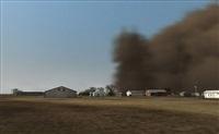 dust storm (manter, kansas) by john gerrard