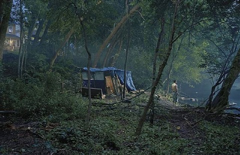 untitled (the fort) by gregory crewdson