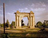 king amanullah's victory arch, paghman by simon norfolk