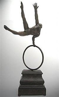 gimnasta en aro by jorge marín