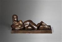 femme allongée by joseph csaky