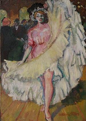 danseuse à tabarin by ludovic rodo pissarro