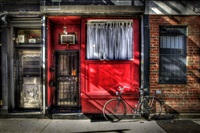 red building stanton street by sally davies