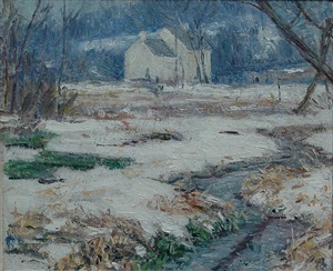 the old mill dam by henry asbury rand