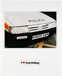 i love joyriding by jeremy deller