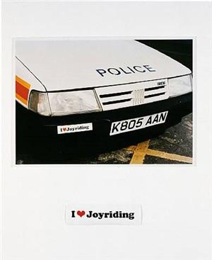 i love joyriding by jeremy deller